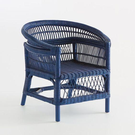 silla de mimbre