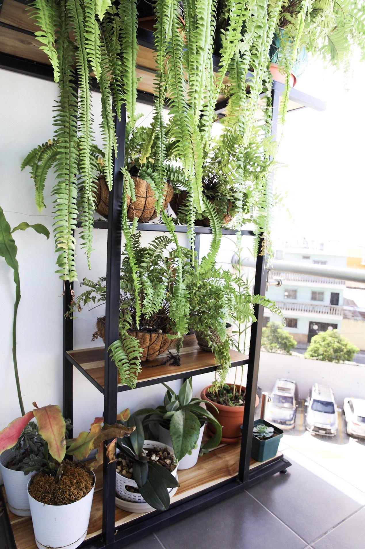 Jardinera para balcon