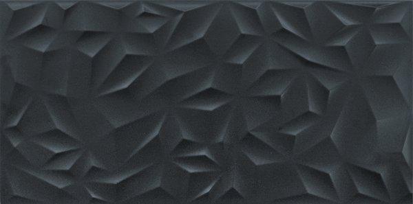 PURE ORIGAMI BLACK RECT. GPR5 45 X 90