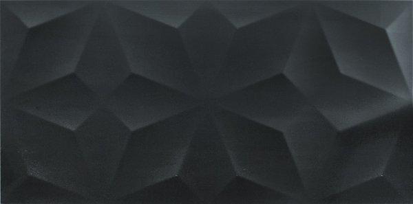 PURE FIORI BLACK RECT. GPR5 45 X 90